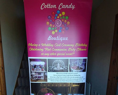 PrintPlusNI - pop up banners